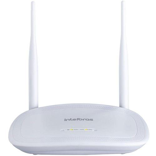 roteador wireless intelbrás iwr 3000n 300mb 2 antenas