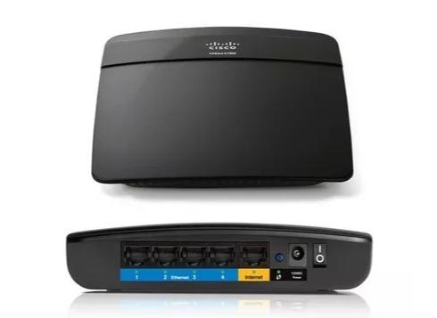 Roteador Wireless Linksys E1200-br 300 Mbps Controle De Pais