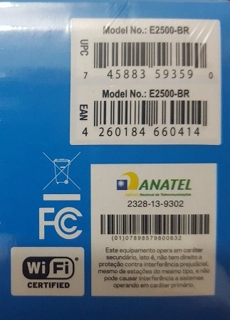 roteador wireless-n 600mbps dual band linksys e2500
