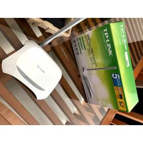 Roteador Wireless Tp-link N 150mbps Excelente Estado