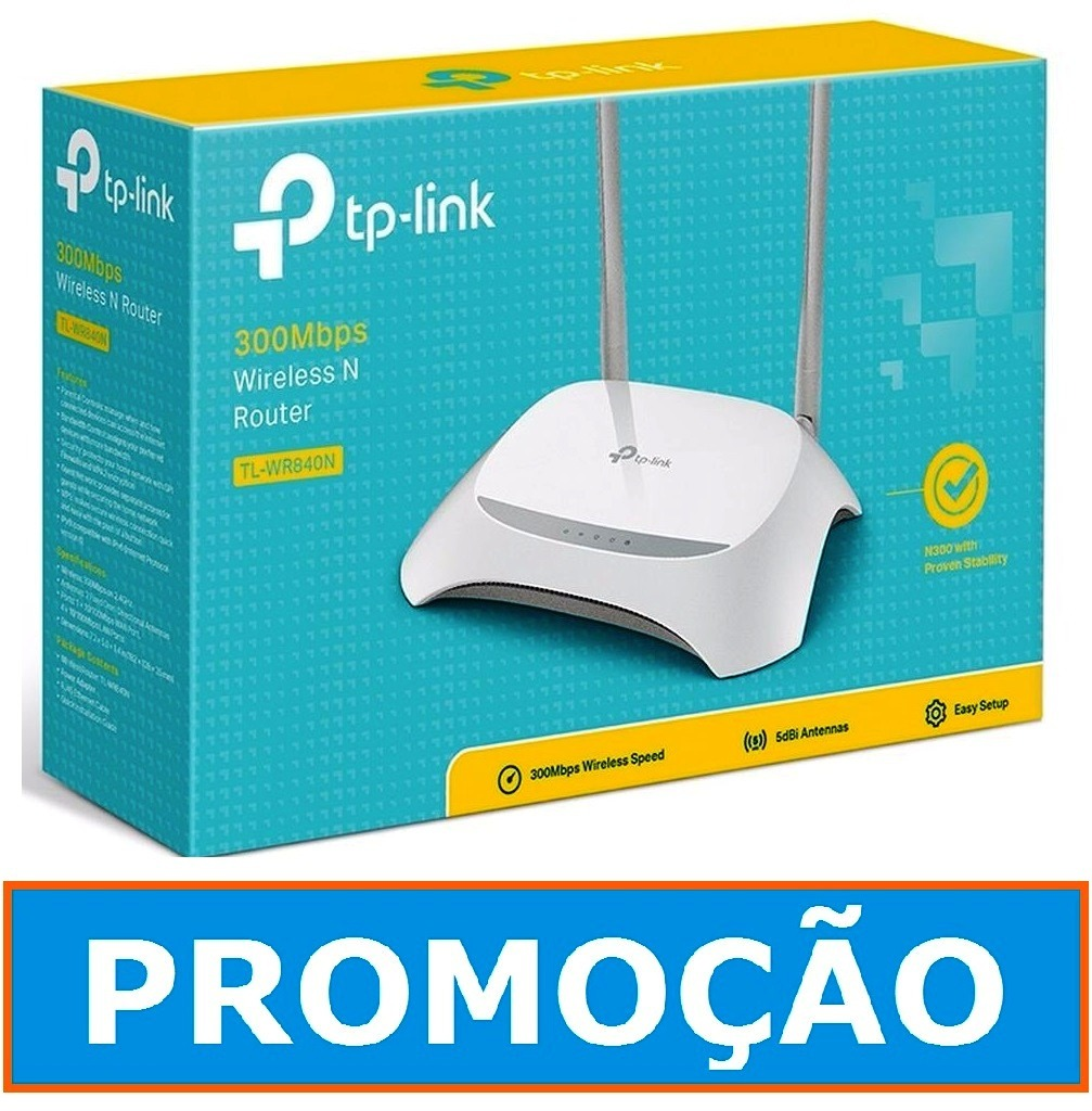 Tp Link Tl Wr840n 300mbps Wireless N Router Antenna Update Daftar Wirless 840n Roteador 2 Antenas 5 Dbi Carregando Zoom