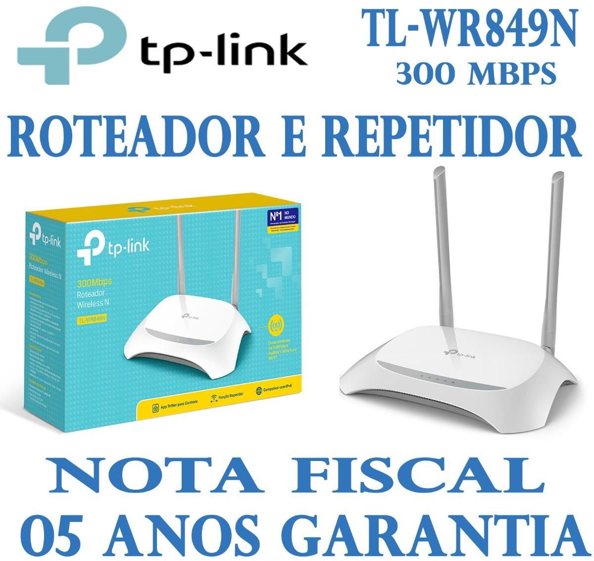 roteador tp link wr849n