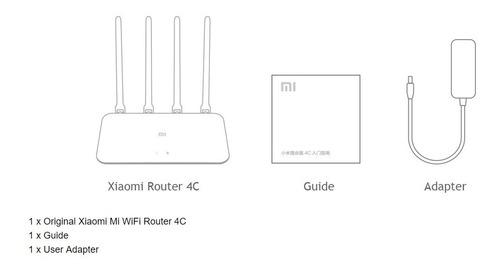 roteador xiaomi mi router 4c - lançamento- pronta entrega