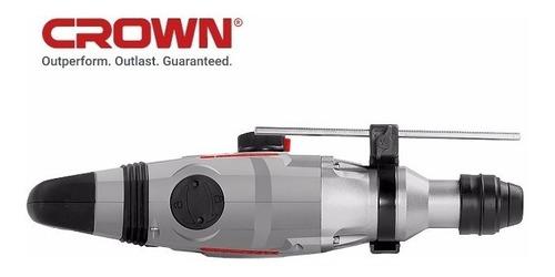 roto martillo crown japan 26mm industrial garantido + acc