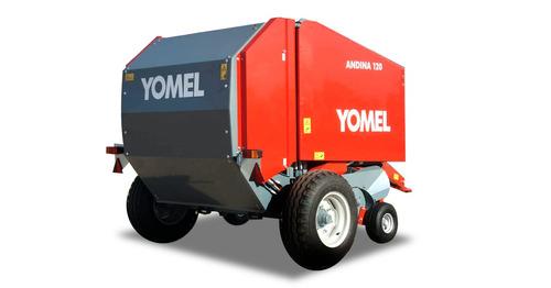 rotoenfardadora andina yomel 120 arrolladora