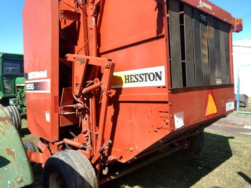 rotoenfardadora hesston 956