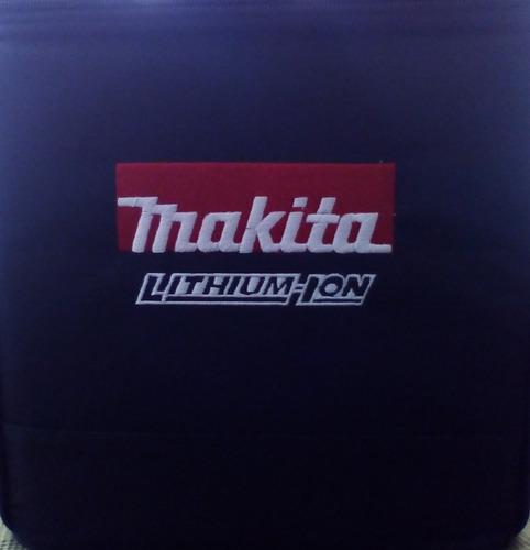 rotomartillo atornillador makita inalambrico +brocas+maleta