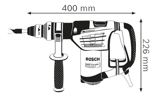 rotomartillo bosch gbh 4-32 dfr sds-plus 900w 4,2j
