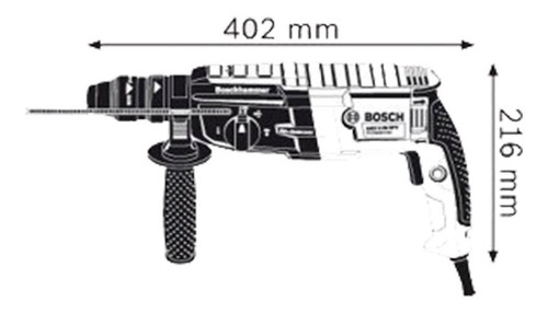rotomartillo bosch sds-plus gbh 2-28 d 850w 3,2j
