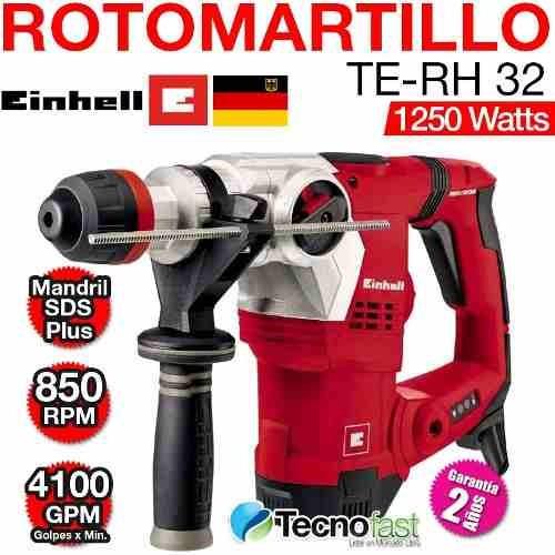 rotomartillo einhell sds plus 1250w 5j te-rh32
