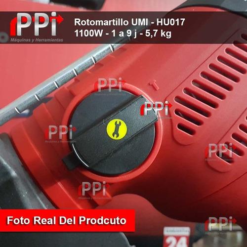 rotomartillo electroneumatico umi 1100w 9j sds max t/ bosch