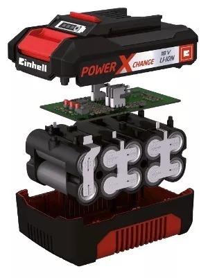 rotomartillo inalambrico 1.2joules einhell 18v + kit bateria