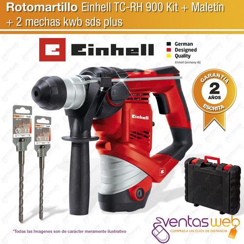 rotomartillo martillo rotopercutor electrico einhell maletin