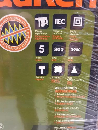 rotomartillo taladro bauker 1500 wats producto sellado