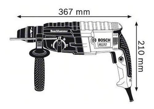rotomartillo taladro bosch gbh 2-24d 820 w mandril adaptador