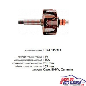 rotor alternador sistema bosch amperes bmw bmw 1995 2000