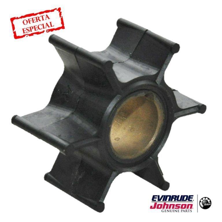 Rotor Bomba D'agua Motor De Popa Johnson Evinrude 9 9/15hp