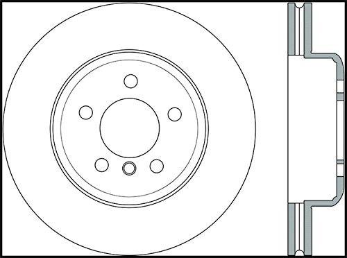 rotor freno perforado cruz deporte stoptech 128.34124l ( fre