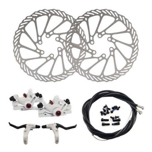 rotor mecánico del freno de disco de la bicicleta de montaña