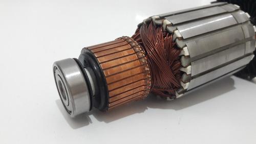 rotor serra rápida mlc140 makita e par escovas  220v