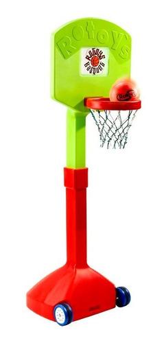 rotoys aro de basquet con pie 2038 premium