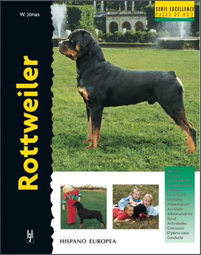 rottweiler - serie excellence, jonas, hispano europea