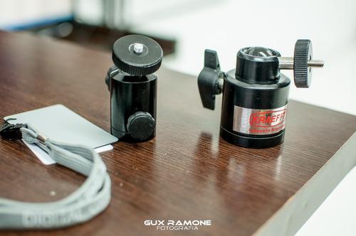 rotula 35 mm giratoria camara tripode iluminacion foto video
