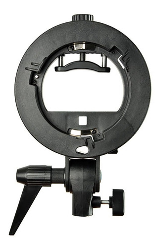 rotula bracket para flash de zapata  godox tipo s  con montura bowens