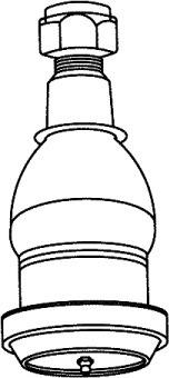 rótula inferior chevrolet silverado 1993/