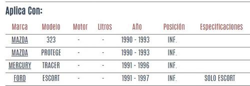 rotula inferior ford escort 1991 - 1997 vzl
