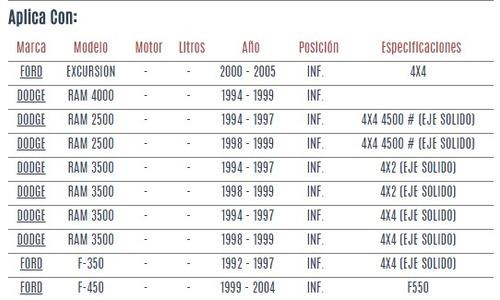 rotula inferior ford excursion 2000 - 2005 vzl