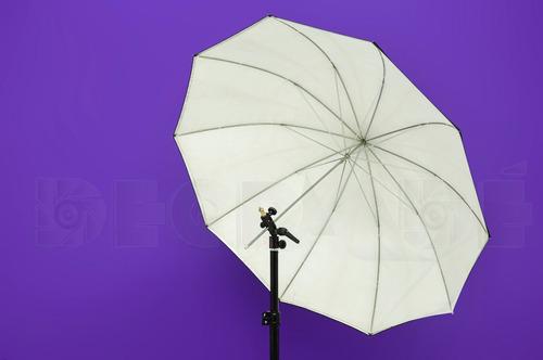 rotula portaparaguas p/ tripode iluminacion fotografia