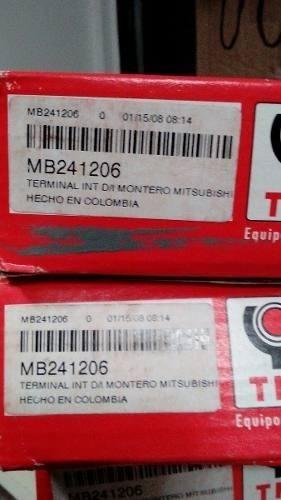 rotula terminal rotulas mitsubishi montero l200 nuevas