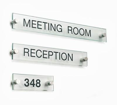 rotulación de oficinas e interiores