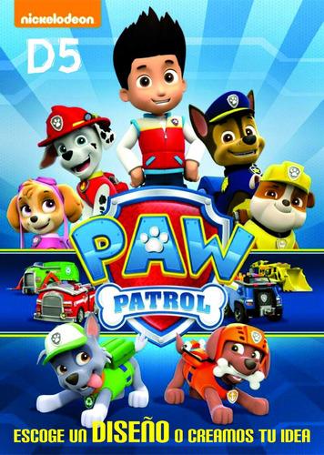 rotulado vinilo decorativo niños para decorar paw patrol