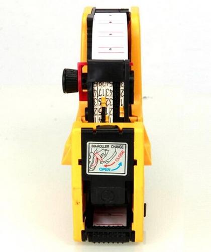 rotulador etiquetador de precios 8 digitos + insumos