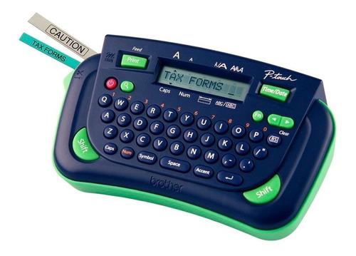 rotulador etiquetadora pt-80 p-touch brother com 1 fita