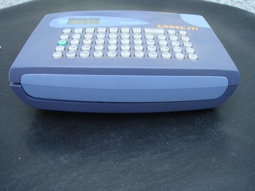 rotuladora casio kl-60 label it.