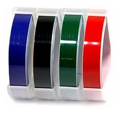 rotuladora motex manual e-404 con cinta negra incluida