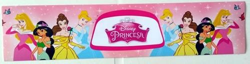 rotulo seis princesas (10 unidades)