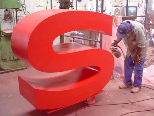rotulos 3d - letras corporeas gigantes - letras madera mdf