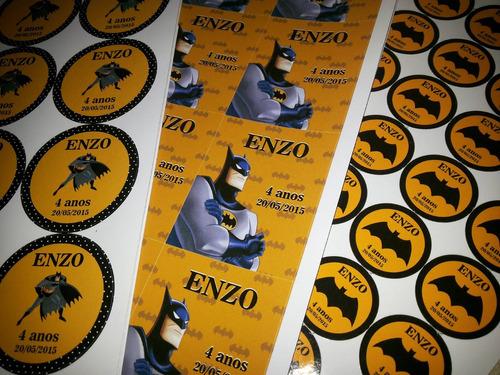 rótulos adesivos personalizados etiquetas para festas