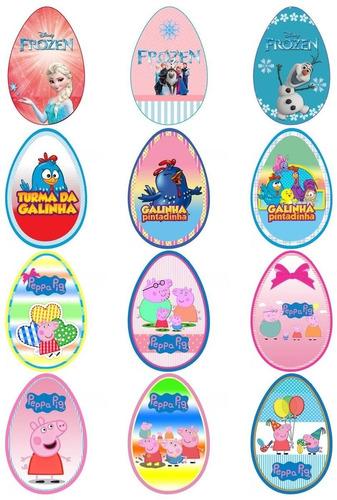 rotulos personalizados para ovo de pascoa