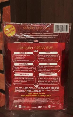 rouge - kit cd + dvd c'est la vie [lacrado e raro]