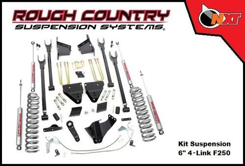 rough country suspensión 4 link 6plg f-250 super duty 11-14