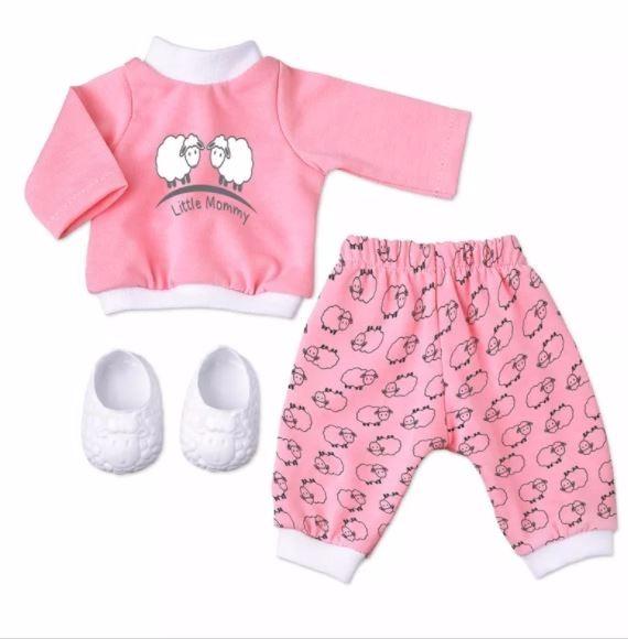 Roupa Baby Alive Pijama Rosa De Carneirinhos La 231 O Fita