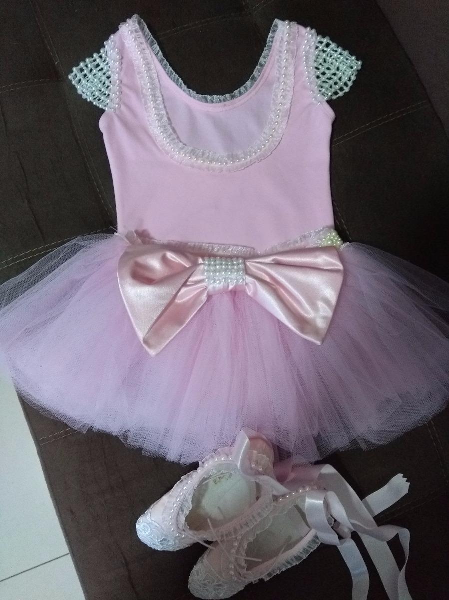 0a13cdf327 roupa bailarina luxo completa com sapatilhas. Carregando zoom.