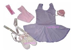 23c2fb53979d52 Roupa Ballet Bailarina Kit Infantil