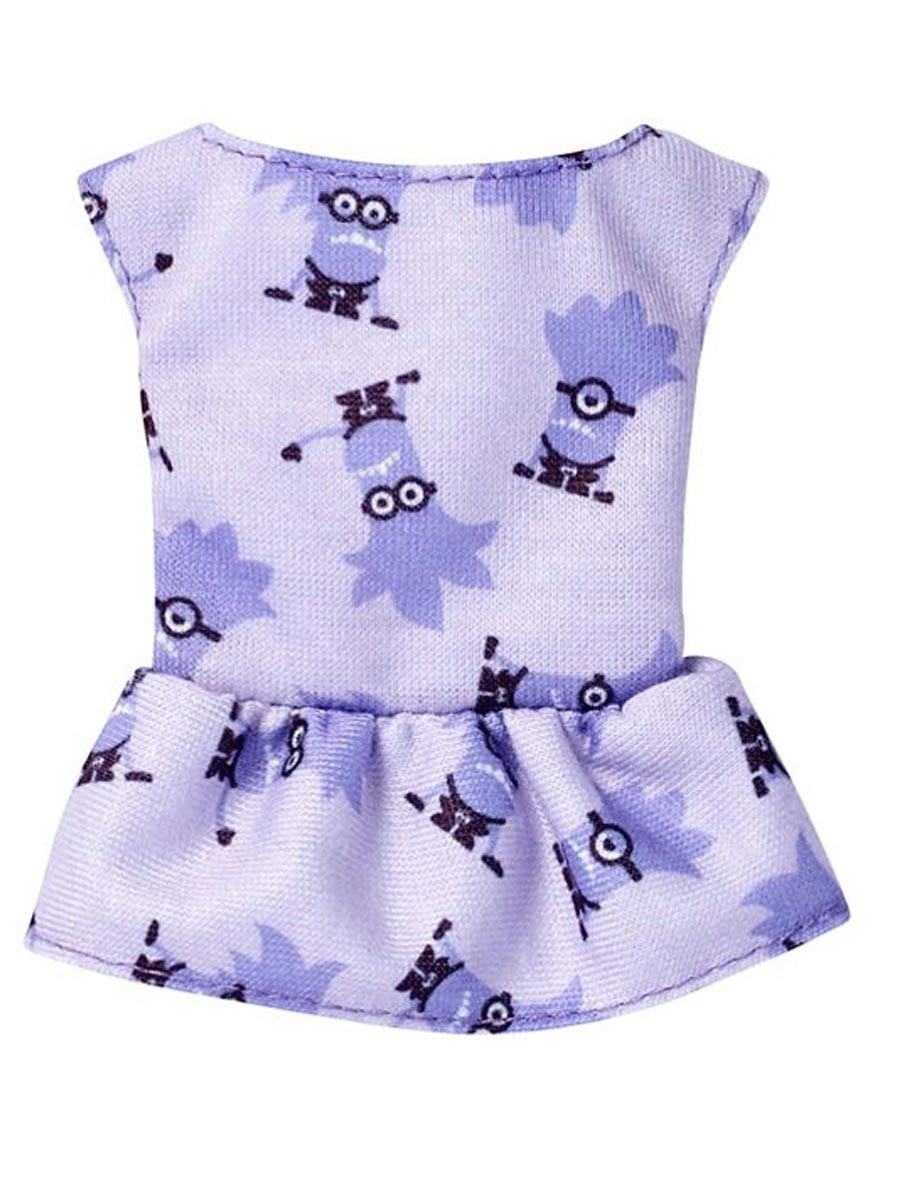 50349007c22f7 roupa barbie blusa licenciada minions fyw84 roxa - mattel. Carregando zoom.
