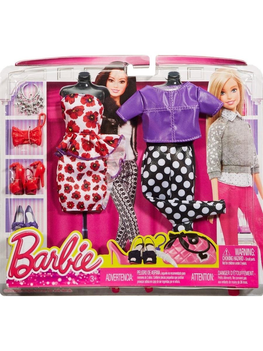 67e317ae7c322 roupa barbie vestido floral e conjunto roxo/preto - mattel. Carregando zoom.